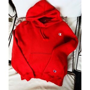NWOT Champion Red Hoodie